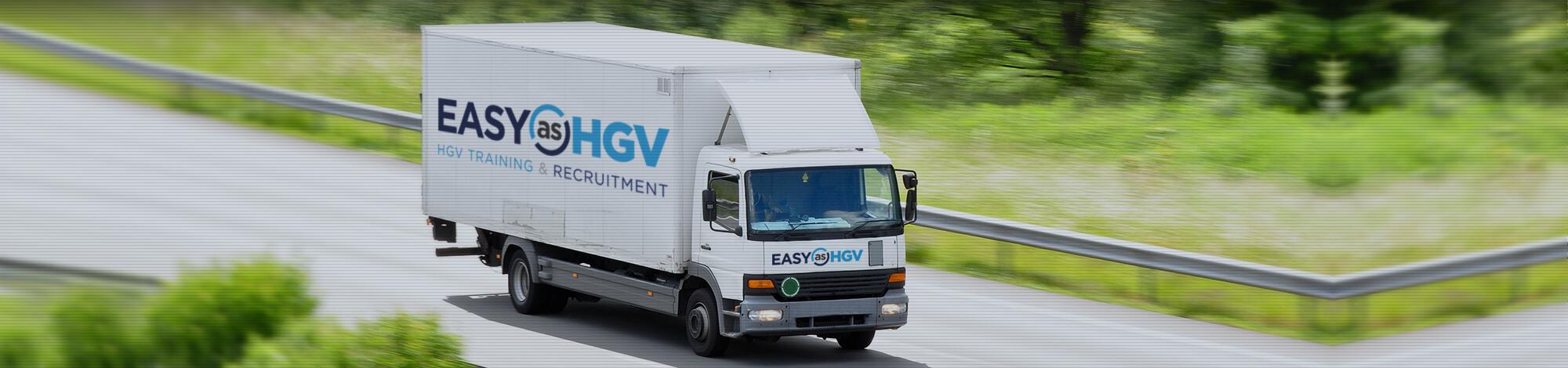 easy as hgv branded van image
