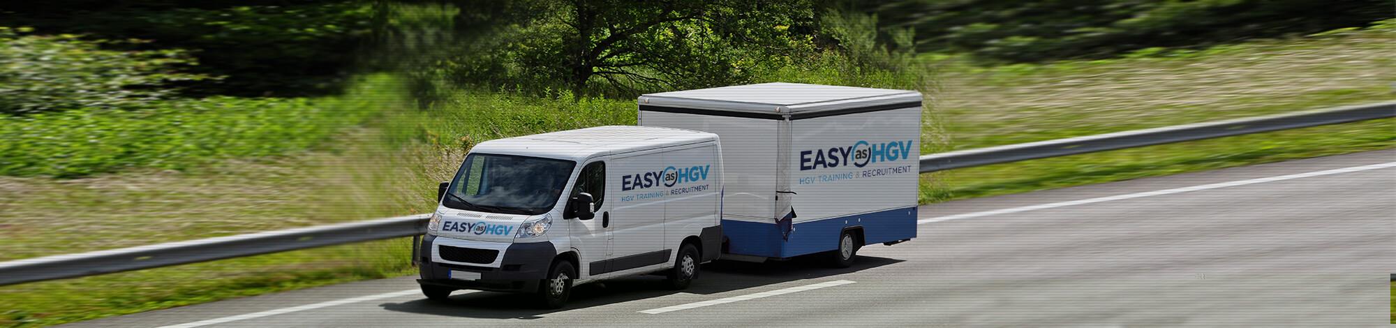 easy as hgv branded vans