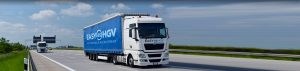 easy as hgv branded lorry image