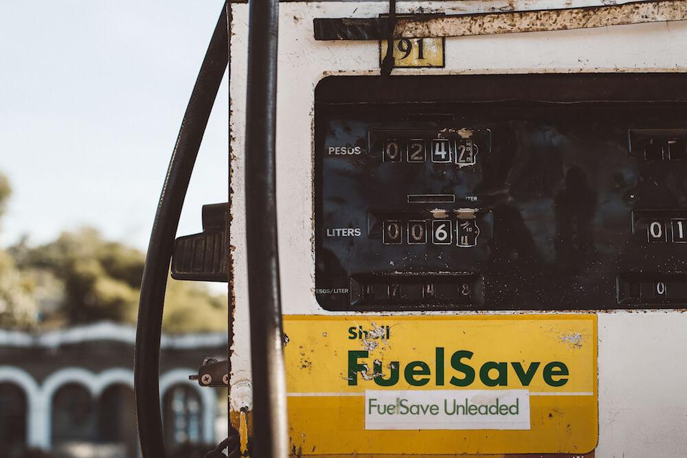 gas station meter image