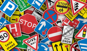 various road signs image