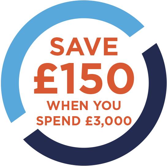 save £150