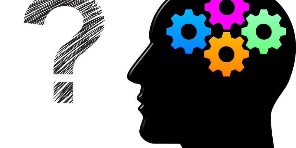 image of brain thinking cogs
