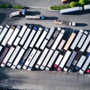 easy as hgv many trucks